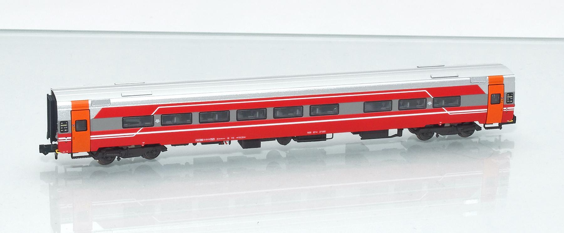 Ergänzungswagen 187605: NSB Expresszugwagen B7-4