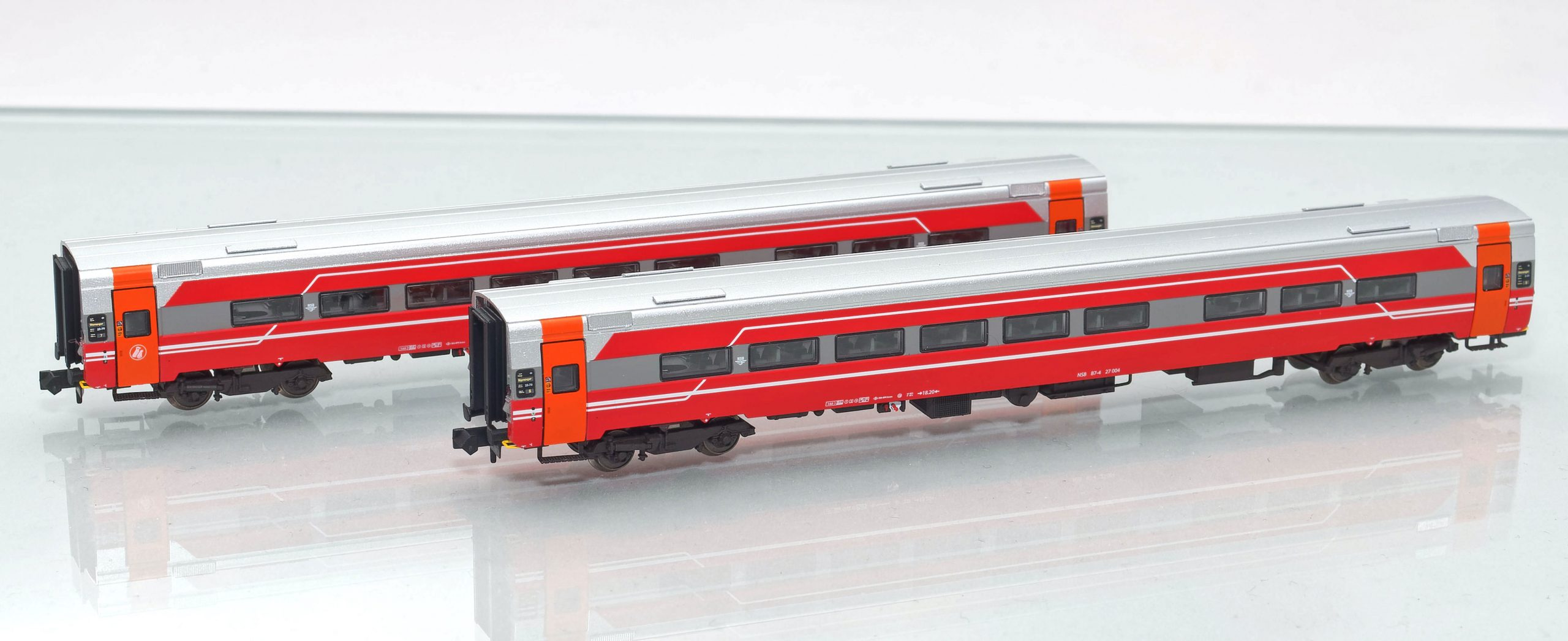 Set 188690: NSB Expresszugwagen B7-4undB7-5