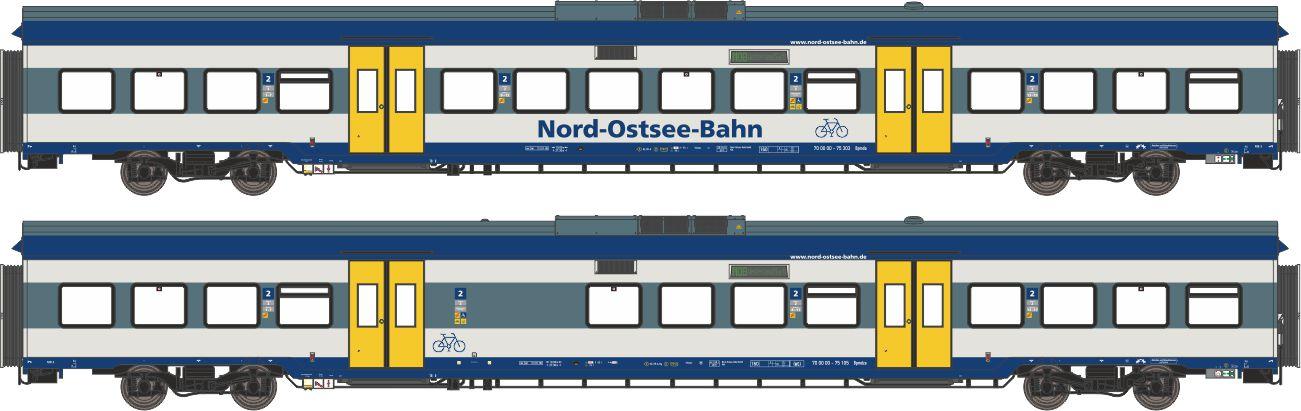 59102: Ergänzungs-Wagenset Marschbahn NOB (Wechselstrom)