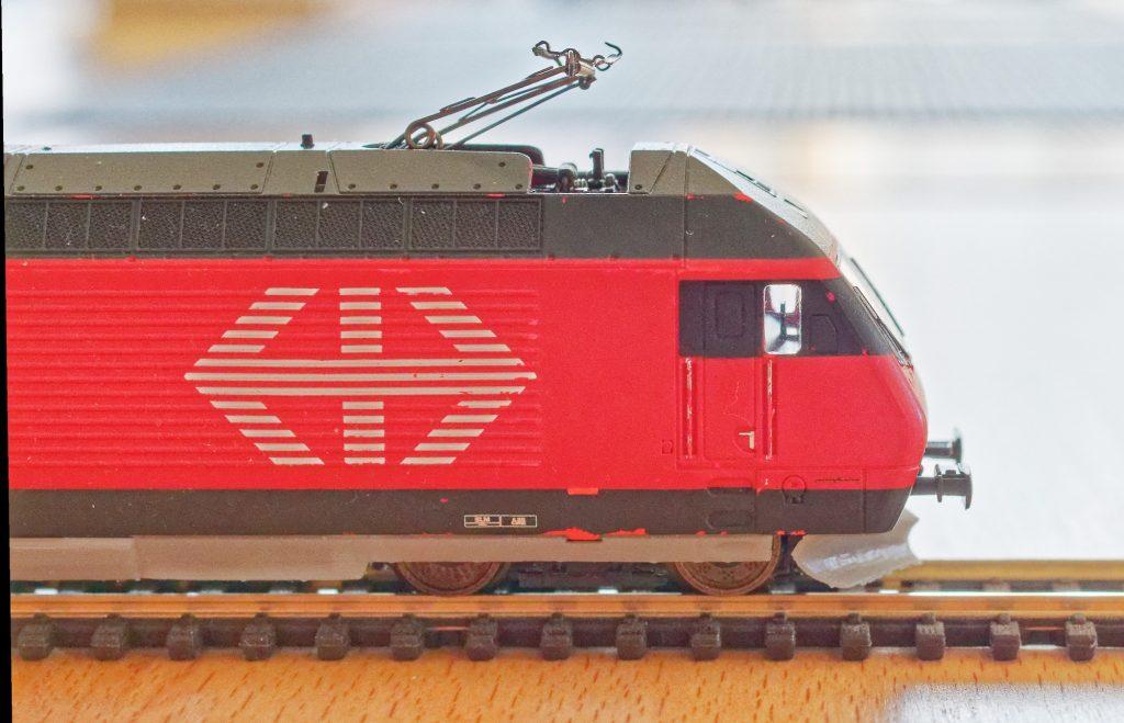 3-D Druck der E-Lok El 18