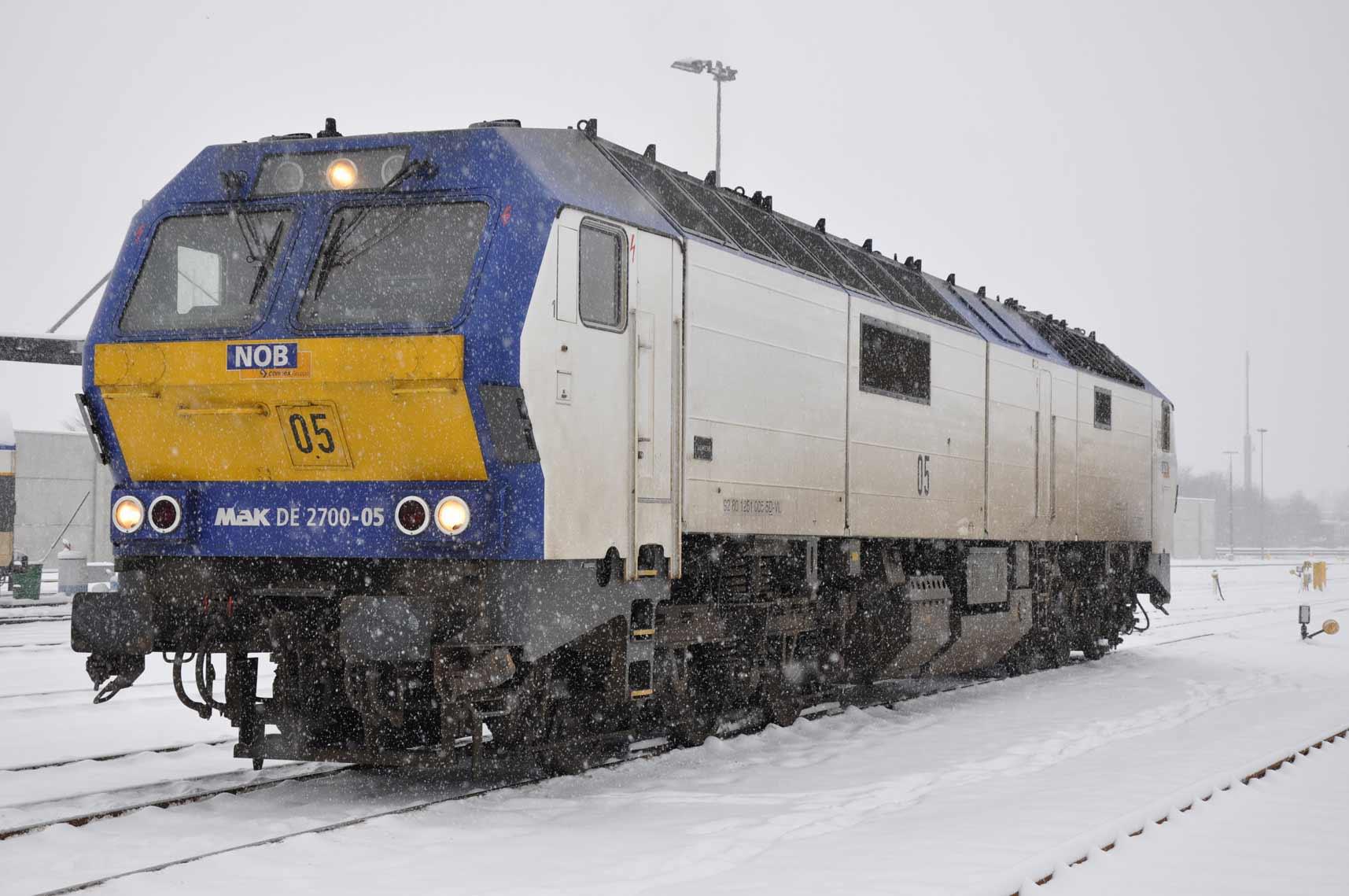 79301: Diesellokomotive DE2700-05 NOB (Wechselstrom) mit Sound