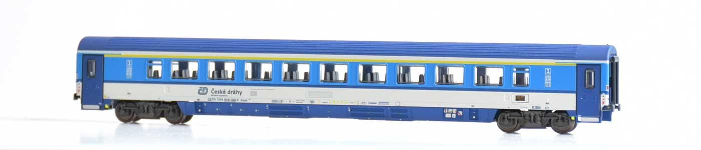 17.10.2020 EuroCity-Wagen der Tschechischen Eisenbahn